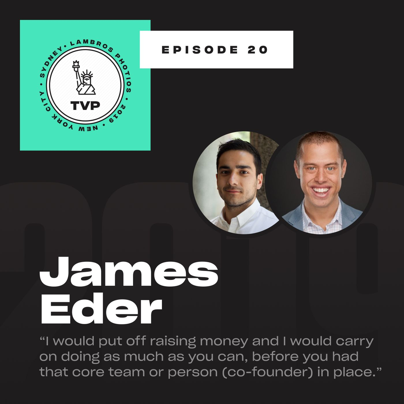 Confessions of a Failed Startup with James Eder